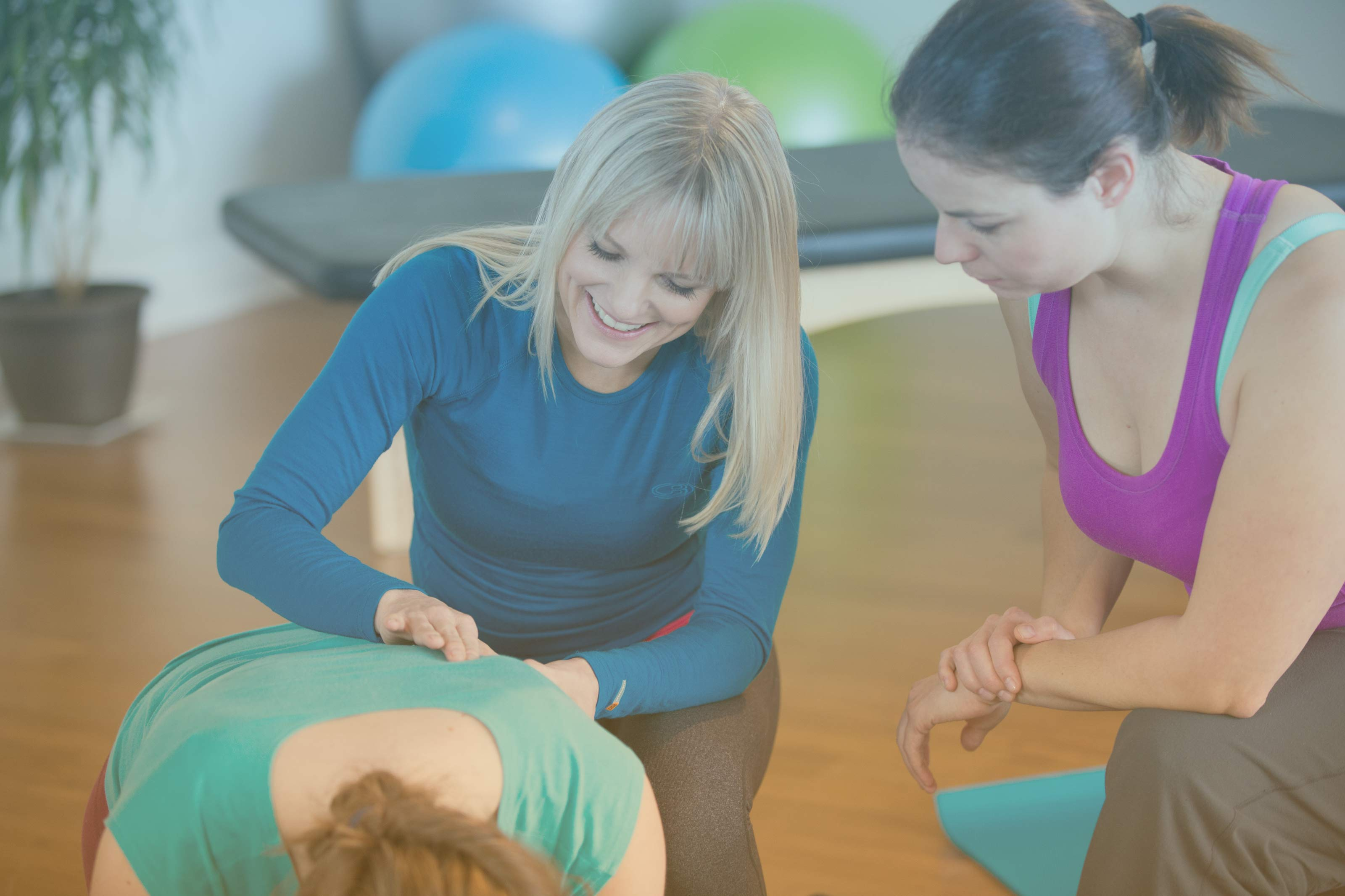 Body Harmonics faculty teaching Classical and Contemporary Pilates Instructor training