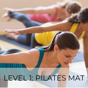 Level 1: Pilates Mat